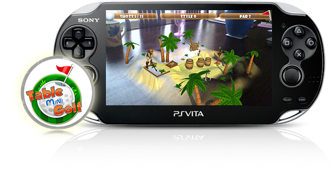 PS Vita Table Mini Golf